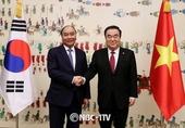 문희상 국회의장, 응웬 쑤언 푹 베트남 총리 면담