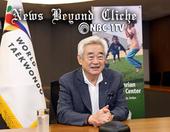 World Taekwondo President delivers powerful speech on taekwondo for peace at SportWorks Talks