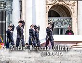 Federzione Italiana Taekwondo organize taekwondo course with Saint Pius X Institute of Vatican City